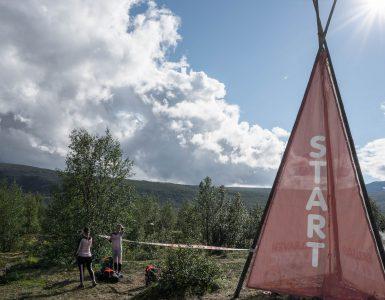Start Fjaellraeven Classic Nikkaluokta
