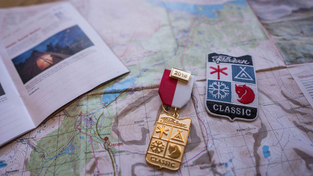 Medaille Fjaellraeven Classic